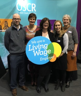 OSCR celebrates Living Wage commitment