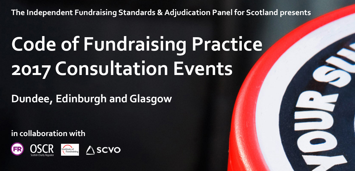 Code of Fundraising Practice Consultation Events