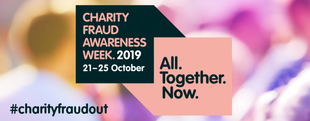 OSCR | Charity Fraud Awareness Week 2019