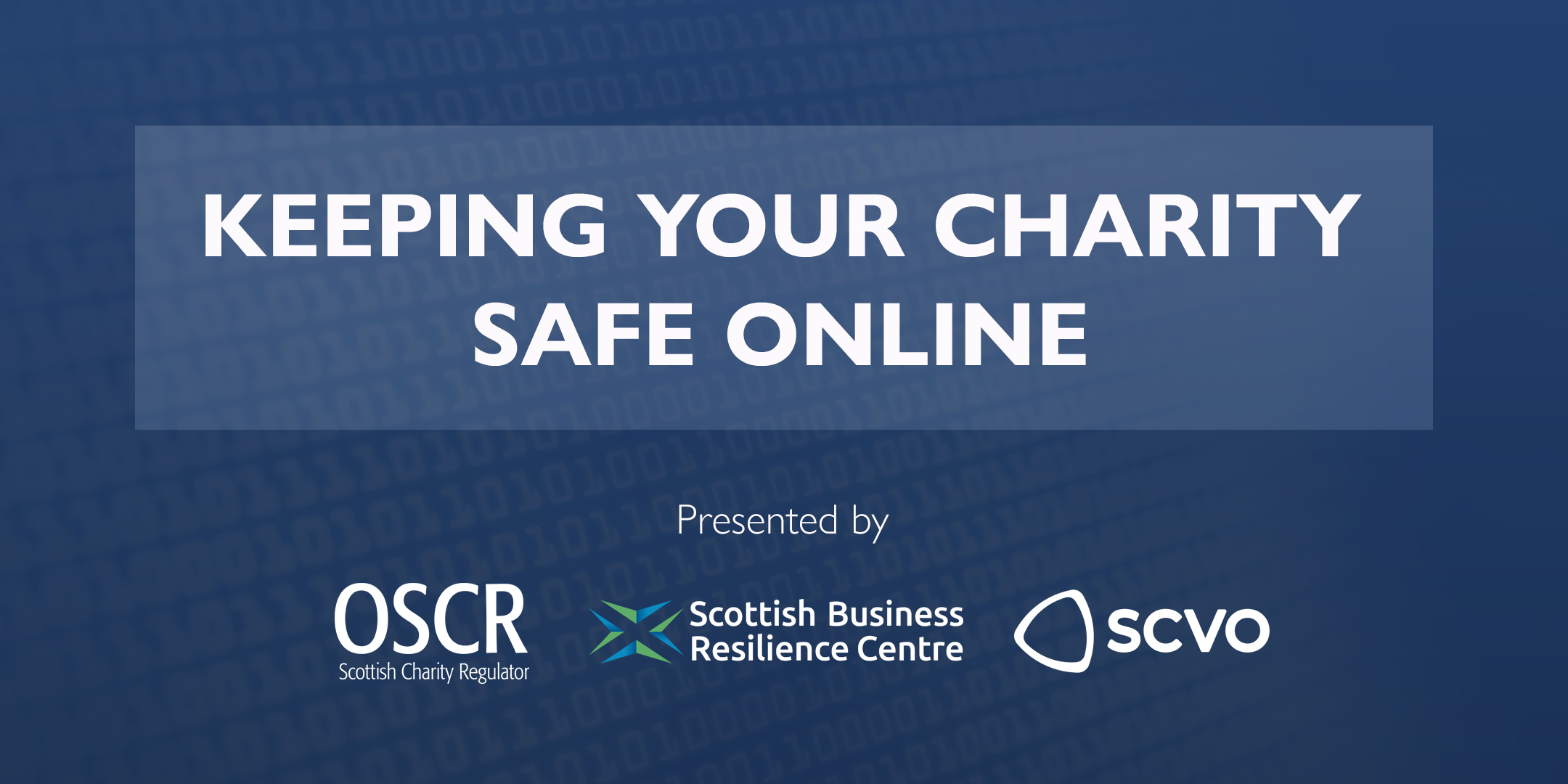 Video: Keeping your charity safe online webinar